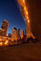 america,bean,chicago,city scape,cityscape,il,illinois,midwest,millennium park,north america,the bean,united states,us,usa,vertical