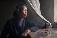 2017, asia, asian, china, chinese, elderly, environmental portait, female, guilin, male, man, old, older, people, portrait, window, window light, woman, xing'ping, xingping, yangshuo, yangshuo area