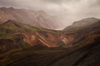 center,central,europe,hill,horizontal,iceland,interior,landmannalaugar,mountain,volcanic,volcano