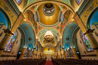 building,cathedral,chicago,church,illinois,midwest,nicholas ukrainian cathedral,north america,united states, saint nicholas, st nicholas, catholic