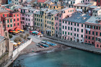 2016,May,Spring,blue hour,cinque terre,europe,horizontal,italy,landscape,liguria,sunset,twilight,vernazza