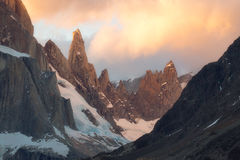 Spring, andes mountains, argentina, beautiful, blue, cerro torre, evening, ice, iceberg, lagoon, laguna torre, lake, landscape, los glaciares national park, mountain, mountain range, patagonia, snow,