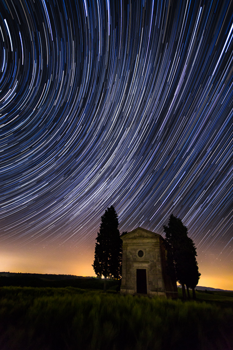 2016,May,Spring,cyprus,europe,hills,italy,landscape,milky way,night,portrait,rolling,star,star trail,stars,trail,tree,trees,tuscany,val d'orcia,val dorcia,vertical,vitaleta church,wheat fields