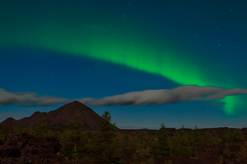 aurora,borealis,europe,horizontal,iceland,lake myvatn,myvatn,north,northern,northern lights,the northern lights, photo