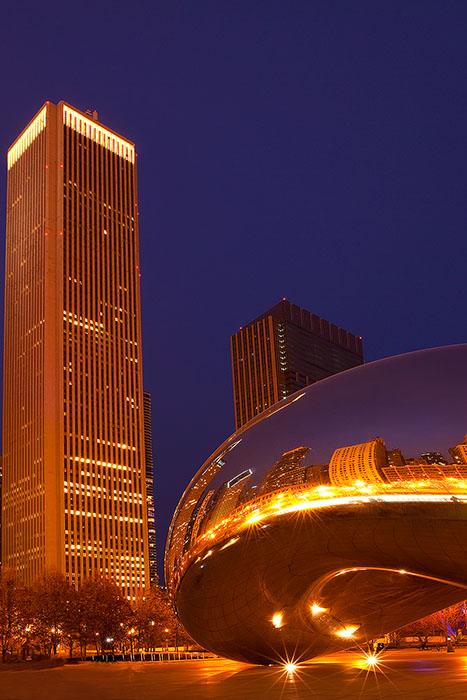 america,bean,chicago,city scape,cityscape,il,illinois,midwest,millennium park,north america,the bean,united states,us,usa,vertical, photo
