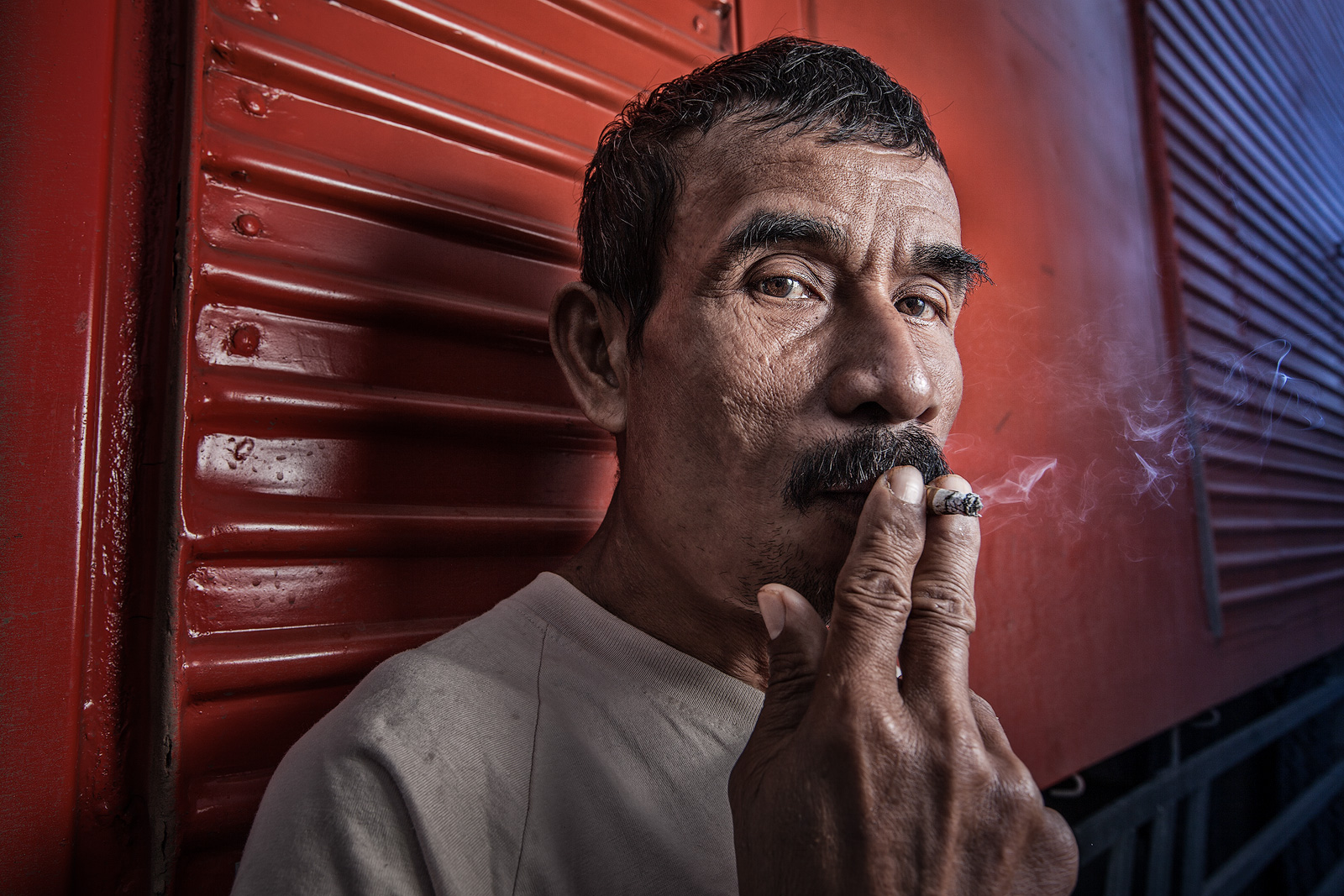 asia,asian,boat,dock,dock worker,environmental portait,indonesia,indonesian,jakarta,java,portrait,ship,smoking,sunda kelapa,west java, photo