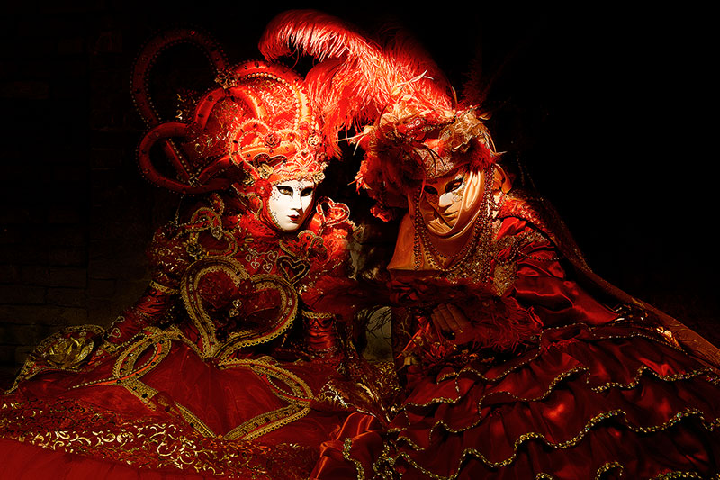 carnival, celebration, colorful, costume, europe, horizontal, italy, mask, myriam, myriam melhem, party, red, venice, photo