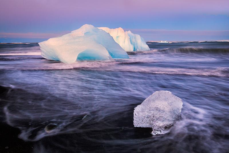 beach,breidamerkursandur,europe,horizontal,iceberg,iceland,sand,southern, photo
