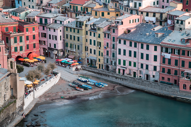2016,May,Spring,blue hour,cinque terre,europe,horizontal,italy,landscape,liguria,sunset,twilight,vernazza, photo