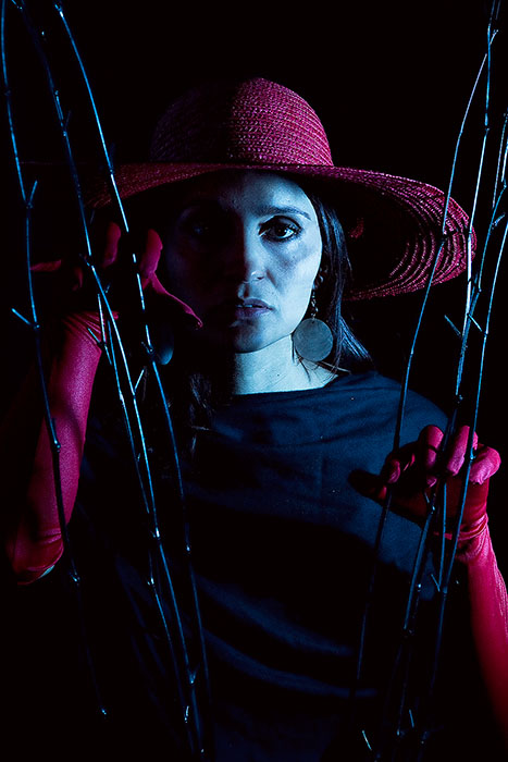 black,dark,darkness,depression,female,hat,lady,red,scary,studio,vertical,woman, photo