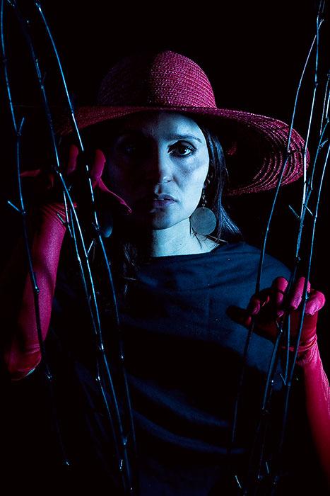 black,dark,darkness,depression,female,hat,lady,red,scary,studio,vertical,woman, photo